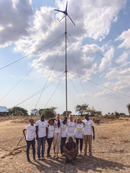 Engineers without borders wind power
