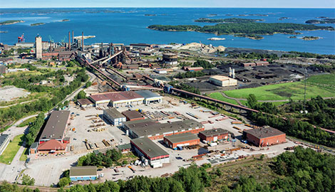 Proplate production site - aerial photo