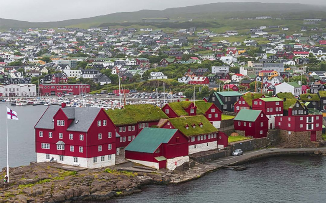 Proplate förankrar vindkraftverk på Färöarna