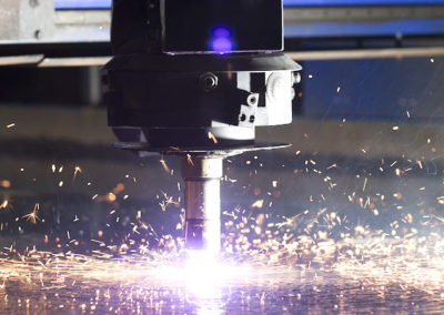 Plasma cutting under water
